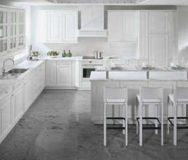 Venecia High Gloss White Kitchen