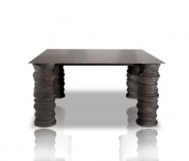 BIDU TABLE | 200X200 H74 | AVAILABLE MEASURES | PAOLA NAVONE