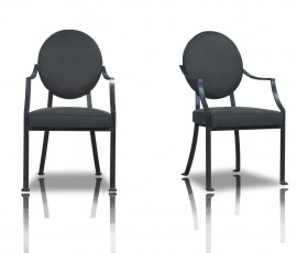 GAMBRETTA CHAIR | 52X63 H93 | AVAILABLE MEASURES | PLUME GRIS | PAOLA NAVONE