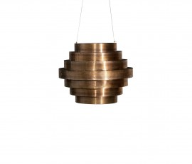 GUGGIE HANGING LAMP | Ø70 H55 | IRON AND BRONZE | AVAILABLE MEASURES